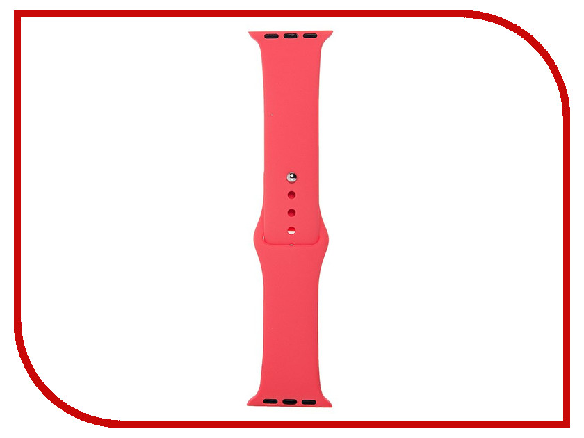 Аксессуар Ремешок Activ Sport Band для APPLE Watch 38mm Light Red 79526 аксессуар ремешок apple watch 38mm activ sport band red 54323
