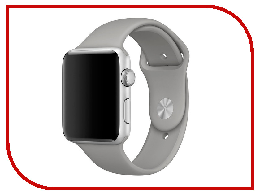 Аксессуар Ремешок APPLE Watch 42mm Activ Grey Sport Band 79543 аксессуар ремешок apple watch 42mm activ grey sport band 79543