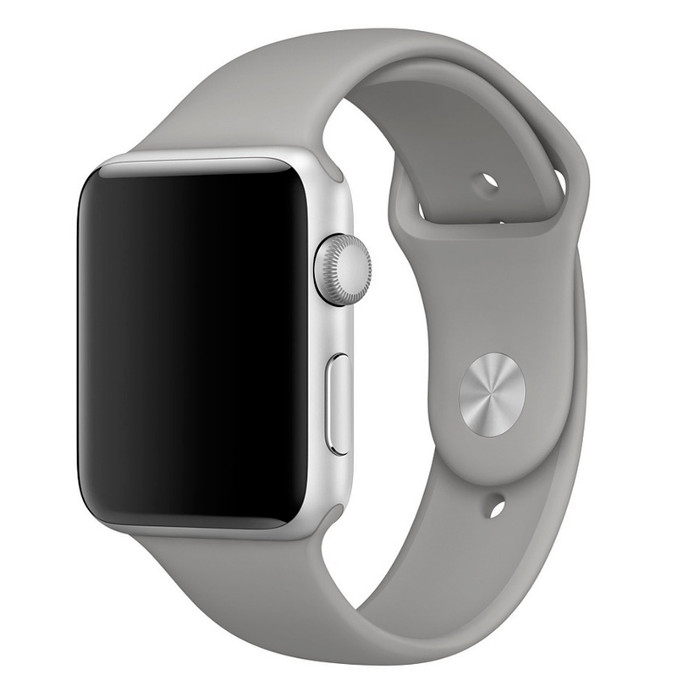 Аксессуар Ремешок APPLE Watch 42mm Activ Grey Sport Band 79543