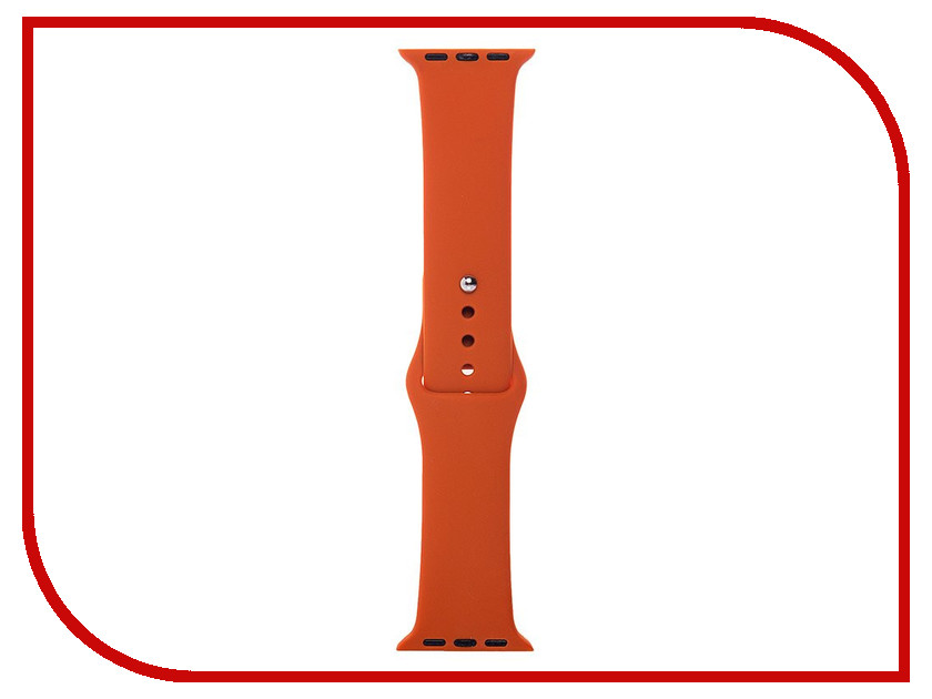 Аксессуар Ремешок Activ Sport Band для APPLE Watch 38mm Terracotta 79535 аксессуар ремешок apple watch 38mm activ sport band white 54324