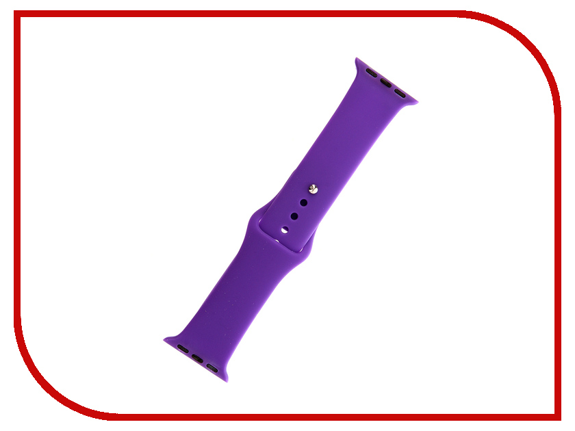 Аксессуар Ремешок Activ Sport Band для APPLE Watch 38mm Violet 79536 аксессуар ремешок apple watch 38mm activ sport band white 54324