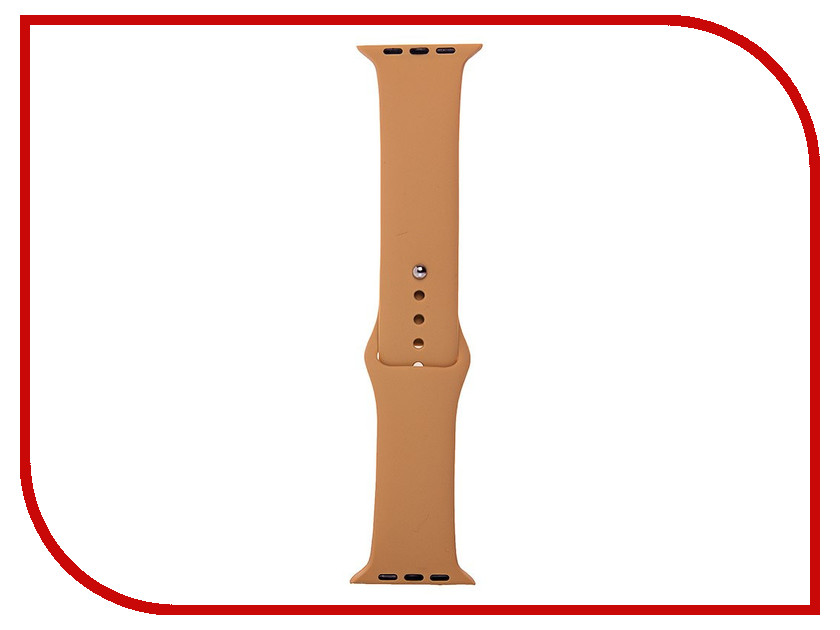 Аксессуар Ремешок Activ Sport Band для APPLE Watch 42mm Beige 79538 2017 fashion men watches top brand luxury function date leather sport watch male business quartz wrist watch reloj hombre