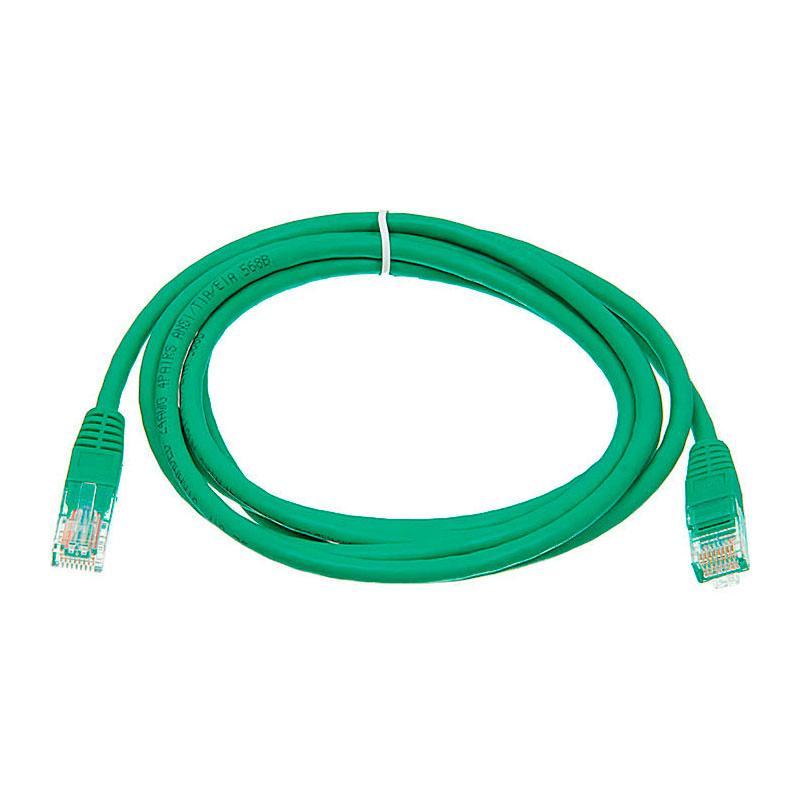 Сетевой кабель Irbis UTP Cat.5e 2m IRB-U5E-2-GN