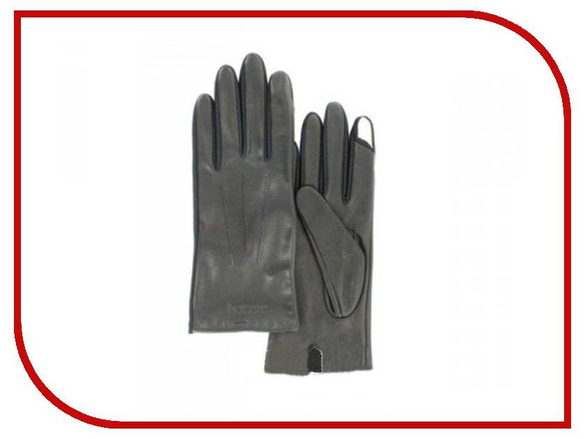 Теплые перчатки для сенсорных дисплеев Isotoner SmarTouch 85014 кожа Black