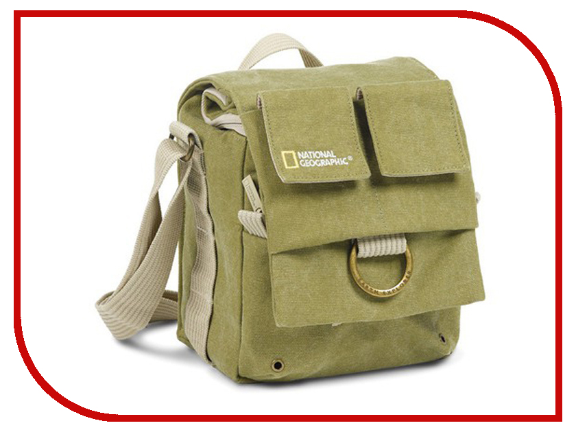 National Geographic NG 2344 Small Shoulder Bag 100% guarantee genuine leather small messenger bag crossbody shoulder bag mini chest packs for men cowhide male handbag