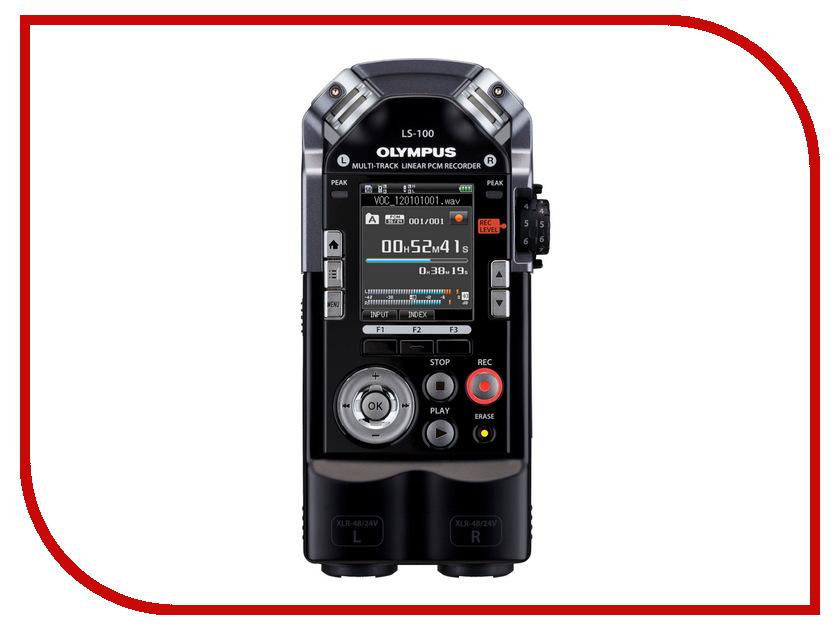 Диктофон Olympus LS-100 диктофон olympus ls p1