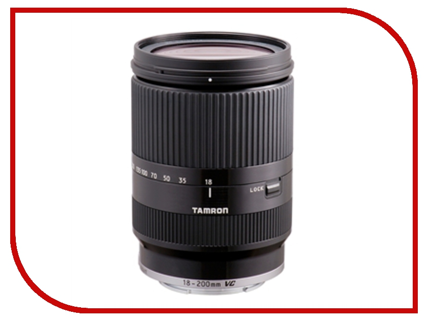 Объектив Tamron Sony AF 18-200 mm F/3.5-6.3 Di III VC for NEX Black