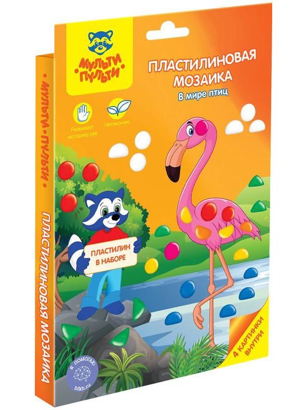 Набор для лепки Мульти-Пульти В мире птиц ПМ_15261