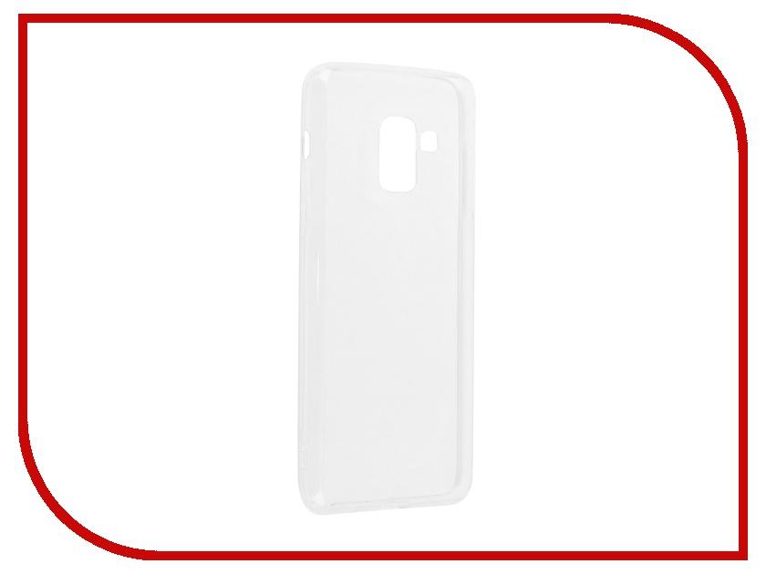 Аксессуар Чехол Samsung Galaxy A8 Plus BoraSCO Silicone Transparent