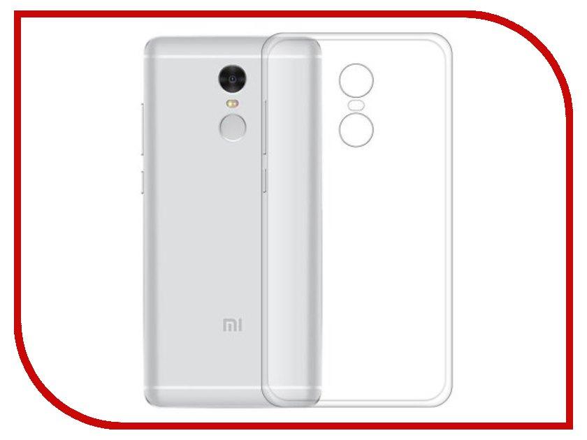 Аксессуар Чехол Xiaomi Redmi 5 Plus BoraSCO Silicone Transparent borasco borasco artworks для apple iphone 7 gymo