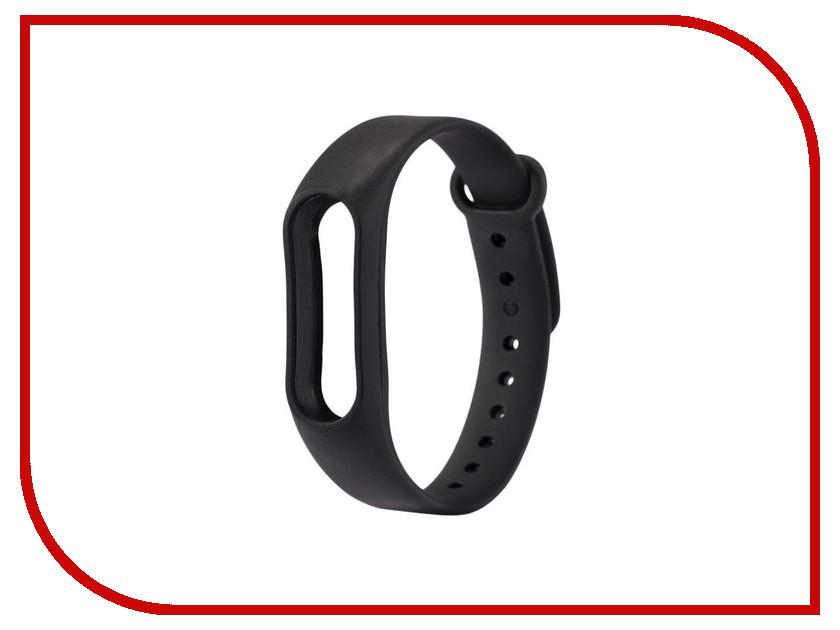 Aксессуар Ремешок Xiaomi Mi Band 2 BoraSCO Silicone Black