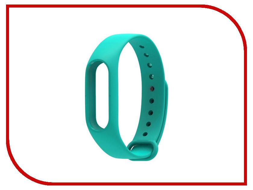 Aксессуар Ремешок Xiaomi Mi Band 2 BoraSCO Silicone Turquoise