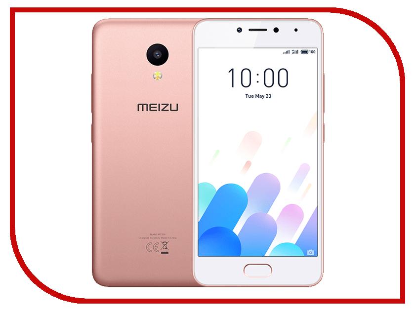 Сотовый телефон Meizu M5C 32Gb Pink сотовый телефон philips e311 xenium navy
