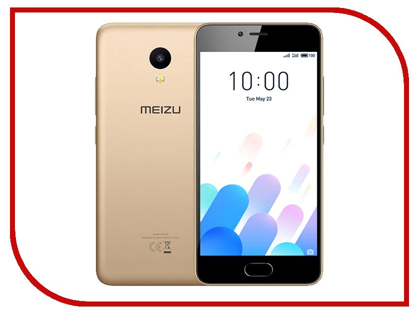 Сотовый телефон Meizu M5C 32Gb Gold сотовый телефон meizu m3 note 32gb gold white