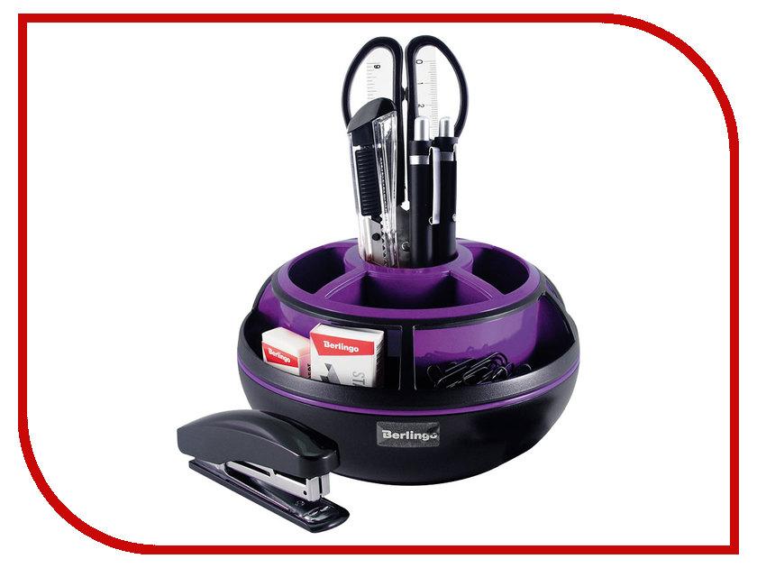 Канцелярский набор Berlingo Apex Black/Purple MOn_09112