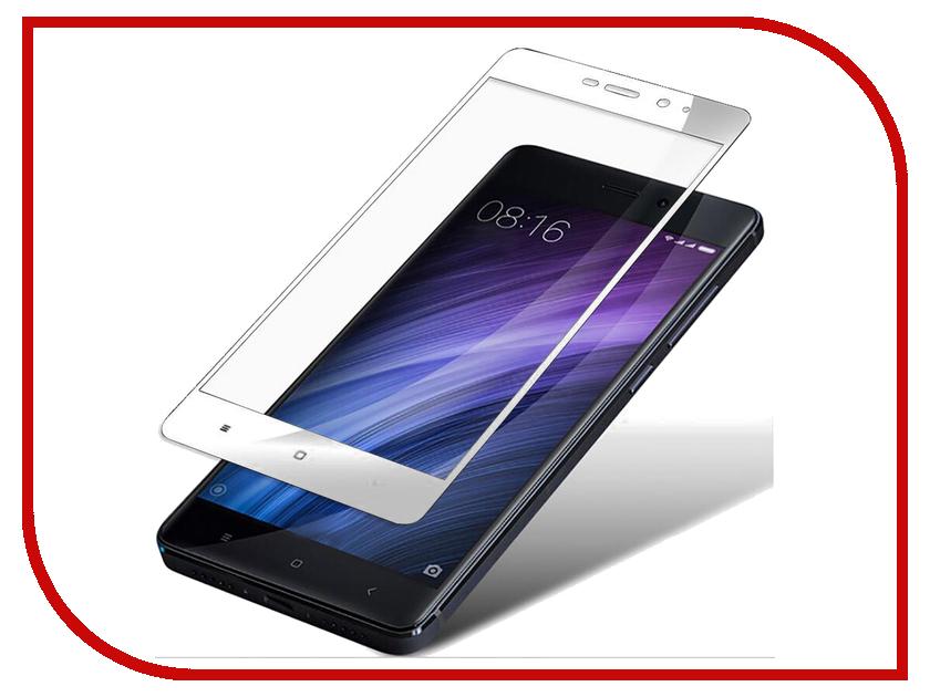 Аксессуар Защитное стекло Xiaomi Redmi 5 Plus Mobius 3D Full Cover White аксессуар защитное стекло mobius 3d full cover для apple iphone 7 plus white