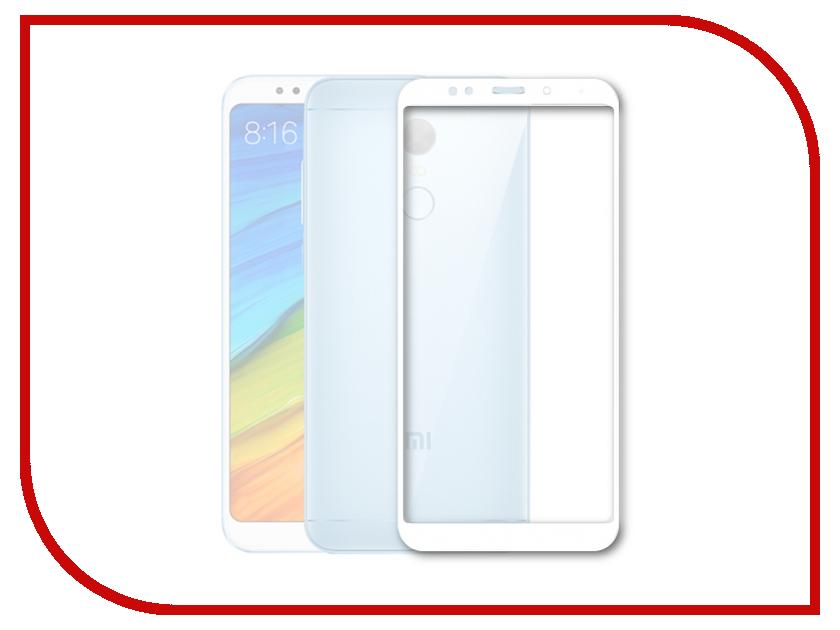 Аксессуар Защитное стекло Xiaomi Redmi 5 Mobius 3D Full Cover White