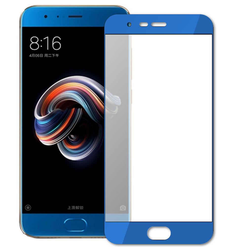 Аксессуар Защитное стекло Mobius для Xiaomi Mi Note 3 3D Full Cover Blue защитное стекло mobius xiaomi mi 6 белый