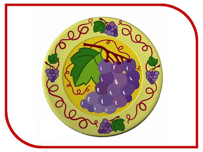 Набор Lori Виноград Т-002 - Декоративная тарелка под роспись