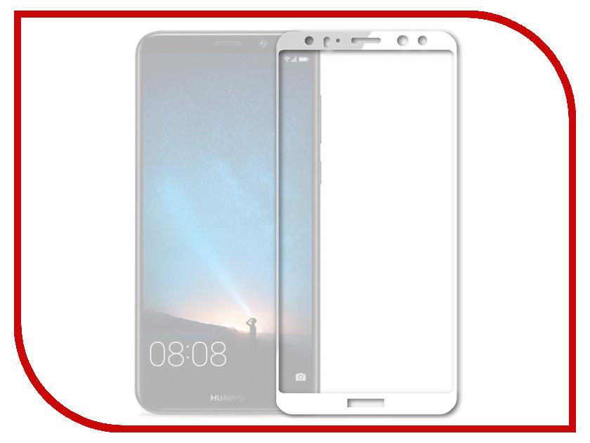 Аксессуар Защитное стекло для Huawei Honor Nova 2i Mobius 3D Full Cover White аксессуар защитное стекло huawei nova aksberry