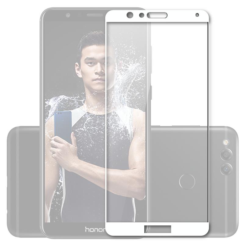 Аксессуар Защитное стекло Mobius для Honor 7X 3D Full Cover White аксессуар защитное стекло для huawei honor 7x solomon 2 5d full cover white 2599