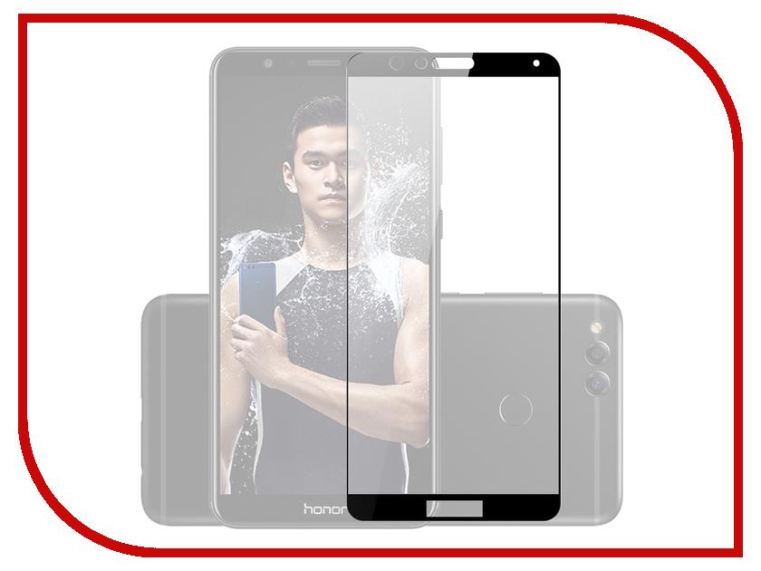Аксессуар Защитное стекло Huawei Honor 7X Mobius 3D Full Cover Black аксессуар защитное стекло samsung galaxy a3 2017 solomon full cover black