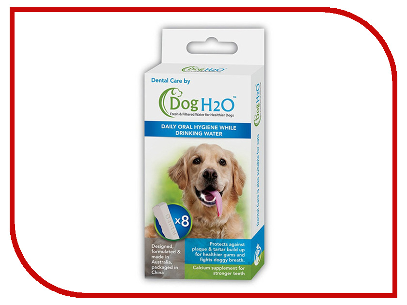 Таблетки для гигиены полости рта Dental Care для поилок Feed-Ex CatH2O/DogH2O 8шт