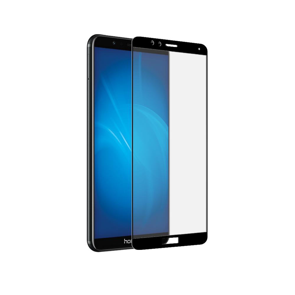 купить Аксессуар Защитное стекло Zibelino для Honor 7X TG Full Screen Black 0.33mm 2.5D ZTG-FS-HUA-HON7X-BLK по цене 445 рублей