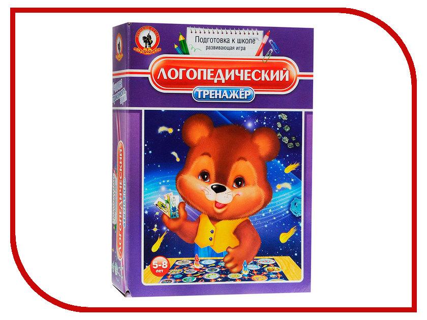Настольная игра Русский Стиль Логопедический тренажер 03403 настольная игра стиль жизни доббль ут000001805