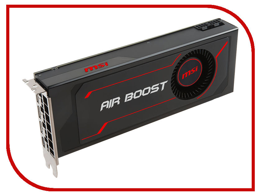 Видеокарта MSI Radeon RX Vega 64 Air Boost 8G OC 1272Mhz PCI-E 3.0 8192Mb 945Mhz 2048 bit HDMI HDCP RX VEGA 64 AIR BOOST 8G OC видеокарта 6144mb msi geforce gtx 1060 gaming x 6g pci e 192bit gddr5 dvi hdmi dp hdcp retail