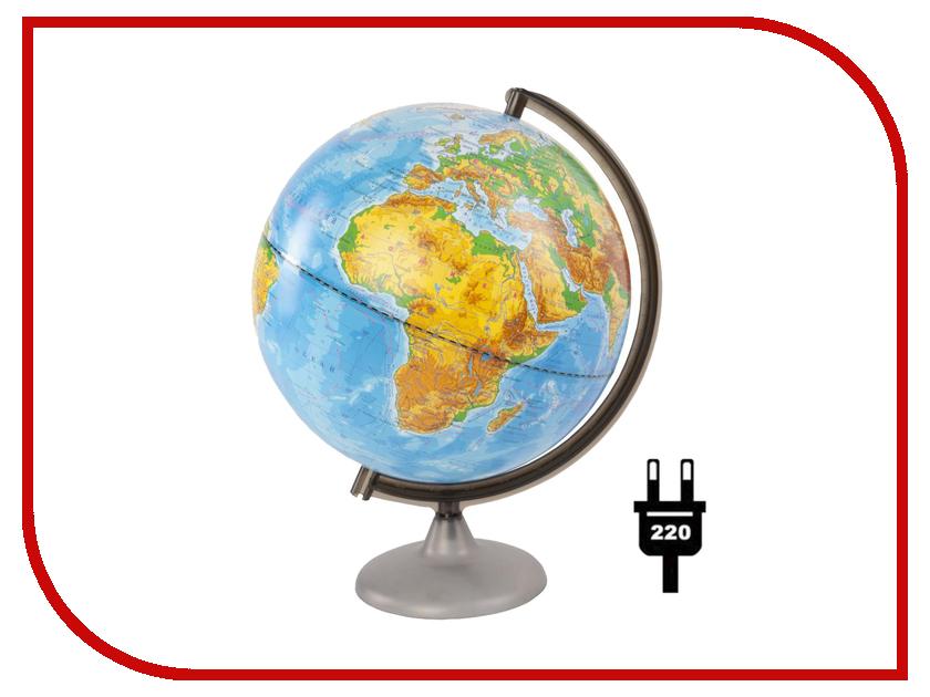 Глобус Глобусный мир Физический 250mm с подсветкой 10163