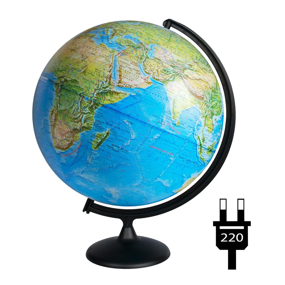 Глобус Глобусный мир Физико-политический 420mm 10355