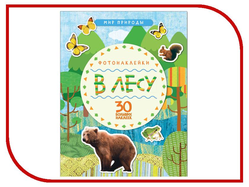 Обучающая книга Мозаика-Синтез Мир природы Фотонаклейки В лесу МС11146 обучающая книга мозаика синтез развивающие наклейки для малышей большой маленький мс10354