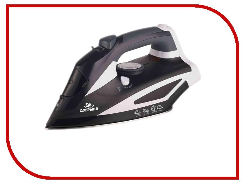 Утюг Добрыня DO-3106 Black-White блендер добрыня do 1403 black