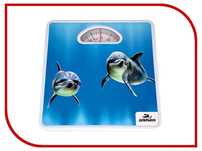 Весы напольные Добрыня DO-3001 Дельфины