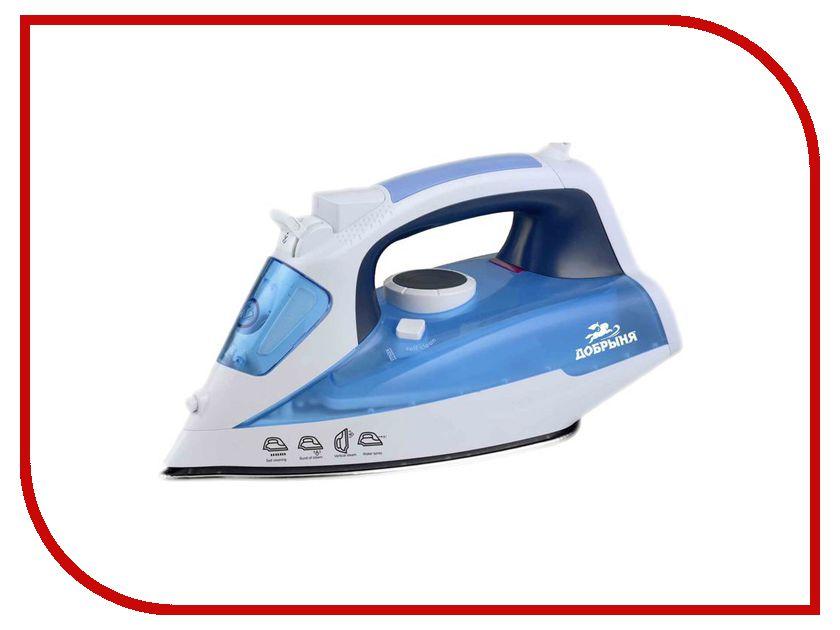 Утюг Добрыня DO-3110 White-Light Blue погружной блендер добрыня do 2305 white