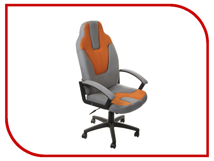 Компьютерное кресло TetChair Neo 3 Grey-Orange компьютерное кресло tetchair step ромашки на зеленом