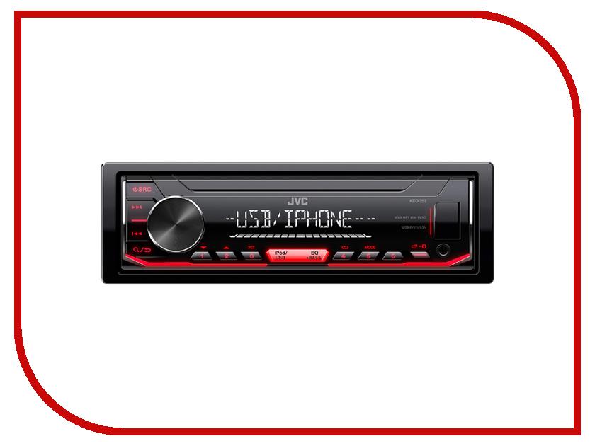 Автомагнитола JVC KD-X252 автомагнитола jvc kd x330bt