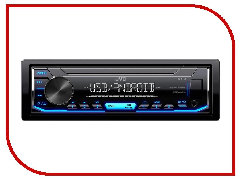 Автомагнитола JVC KD-X151 автомагнитола jvc kd r681 kd r681