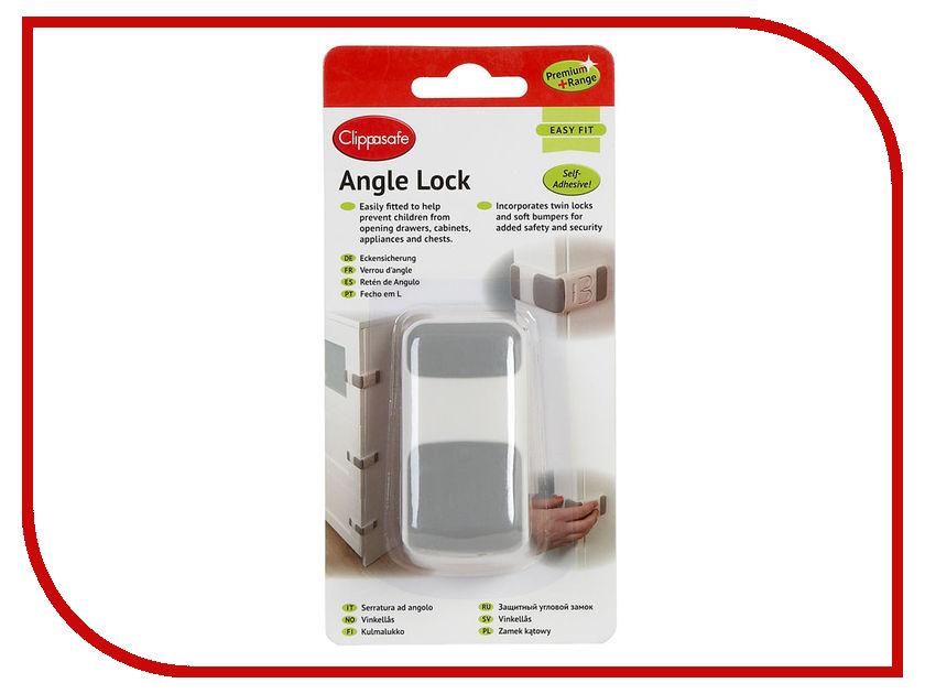 Замок Clippasafe CL71/6 защита clippasafe защитный замок для створчатой двери clippasafe cl72