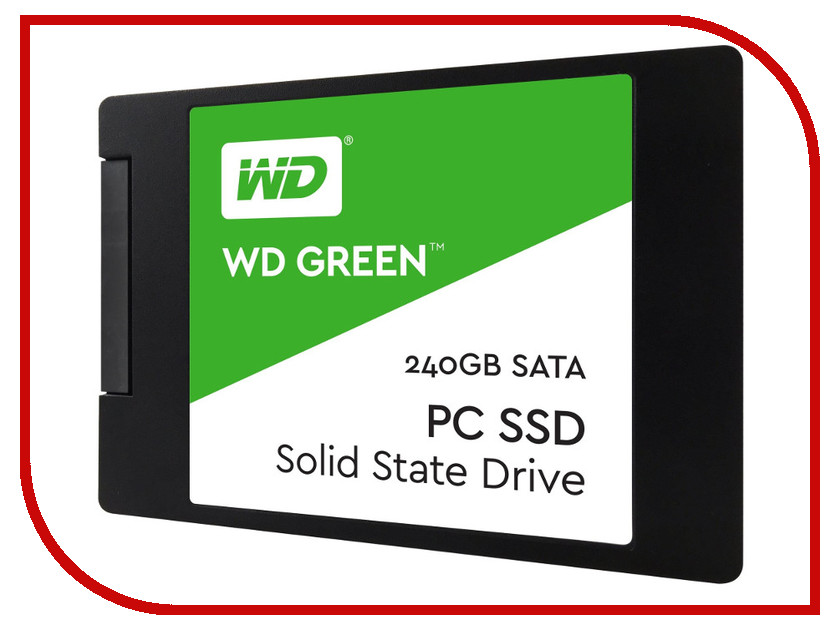 Жесткий диск 240Gb - Western Digital WD Green WDS240G2G0A bob sinclar a western video story