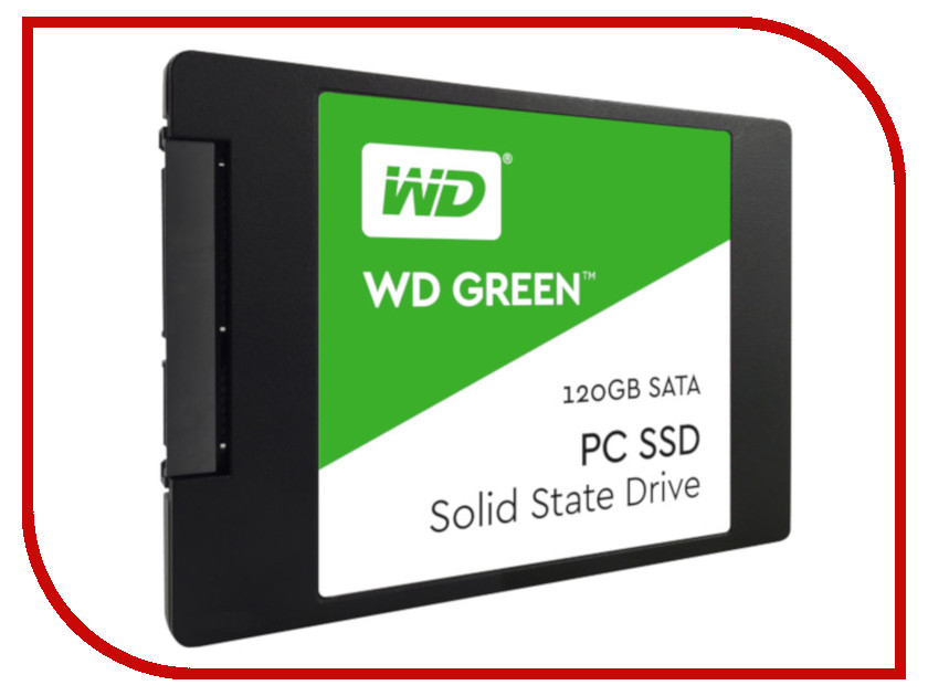 Жесткий диск 120Gb - Western Digital WD Green WDS120G2G0A bob sinclar a western video story