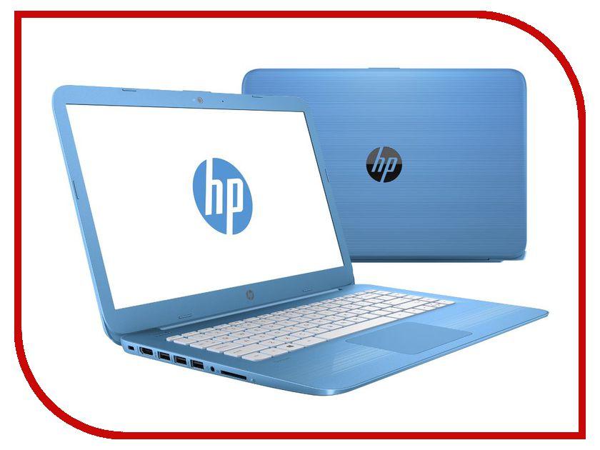 Ноутбук HP Stream 14-ax015ur 2EQ32EA (Intel Celeron N3060 1.6 GHz/4096Mb/32Gb/No ODD/Intel HD Graphics/Wi-Fi/Bluetooth/Cam/14.0/1366x768/Windows 10 64-bit) ноутбук asus a553sa xx307t 90nb0ac1 m06210 intel celeron n3050 1 6 ghz 2048mb 500gb no odd intel hd graphics wi fi bluetooth cam 15 6 1366x768 windows 10