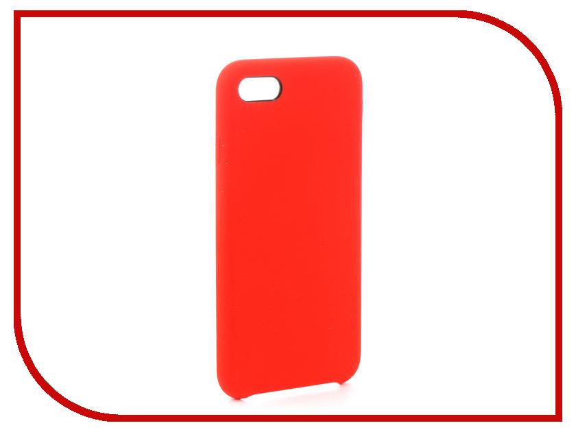 Аксессуар Чехол-накладка Smarterra Marshmallow Cover Red для APPLE iPhone 7 MMCIP7RD аксессуар чехол накладка smarterra marshmallow cover pink для apple iphone 7 plus mmcip7ppk