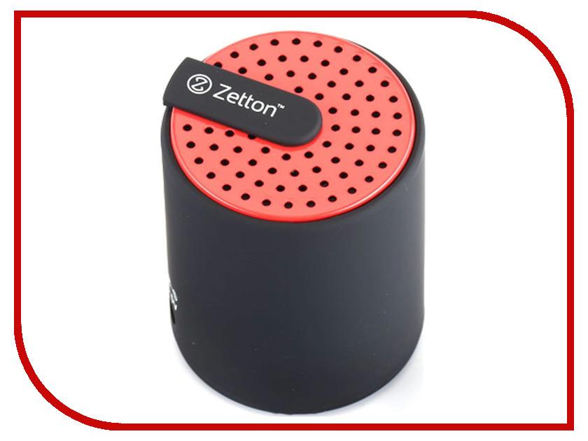 колонки и акустические системы Cylinder  Колонка Zetton Cylinder Black-Red ZTLSBSCYLBR
