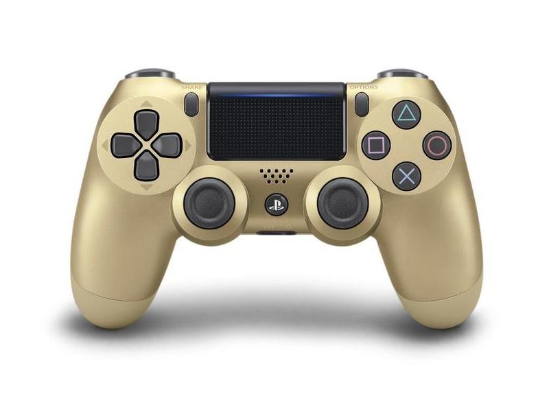 Геймпад Sony DualShock 4 V2 Golden CUH-ZCT2E
