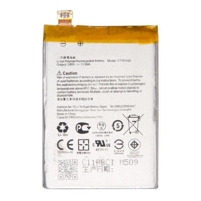 Аккумулятор RocknParts Zip для ASUS Zenfone 2 ZE551ML 535347 телефон asus zenfone 2 ze551ml 32gb ram 4gb золотой