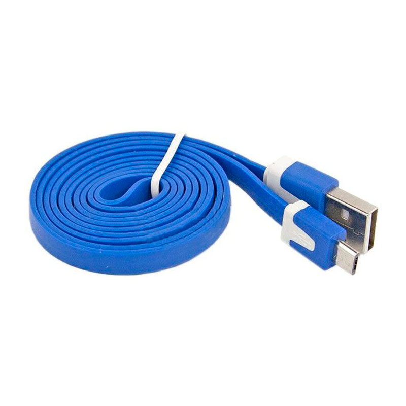 Аксессуар Liberty Project USB - Micro USB 1m Blue SM000116 цена