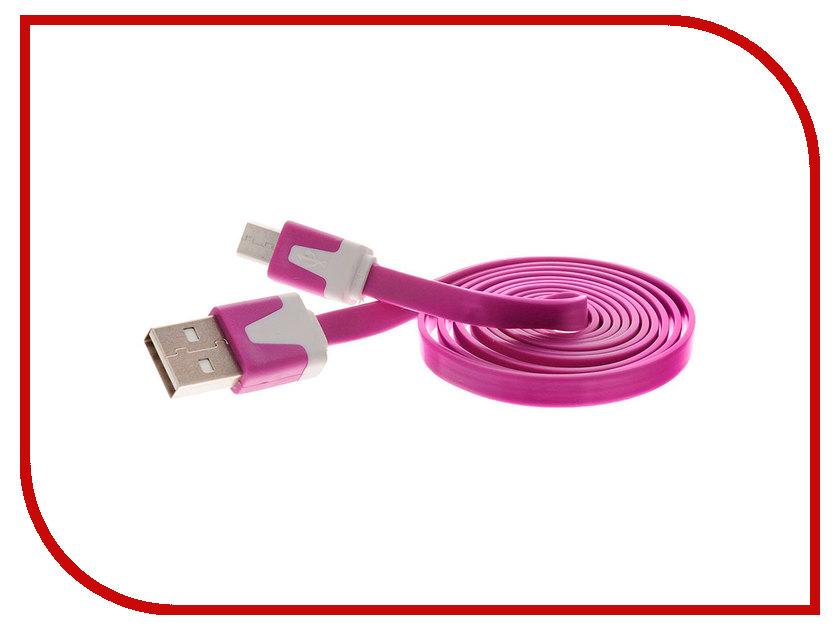 Аксессуар Liberty Project USB - Micro USB 1m Lilac SM000115