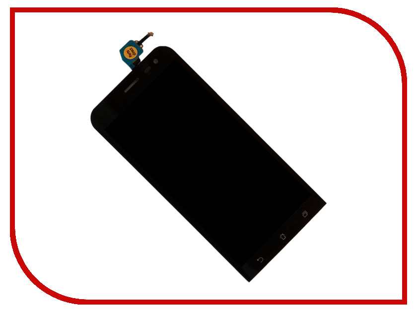 Дисплей Zip для ASUS Zenfone 2 Laser ZE500KL Black 445643 чехол накладка pulsar clipcase для asus zenfone 2 laser ze550kl красный